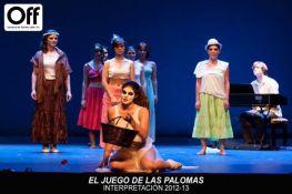 2012- El juego de las palomas- Escuela Off - Valencia, España. Direccion Anaïs Duperrein