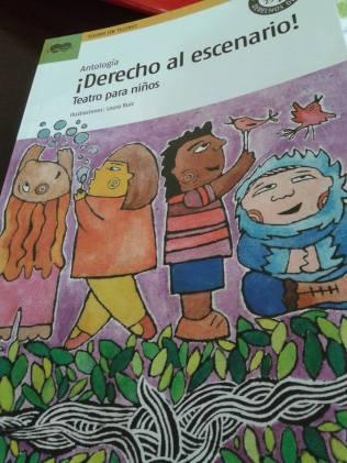 COSA DE MONO. Editada en la antologia Derecho al escenario! Quipu- Atina 2014