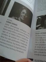 COSA DE MONO Editada en la antologia Derecho al escenario! Quipu- Atina 2014