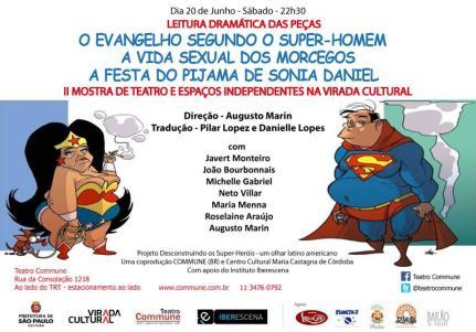 Proyecto Iberescena- Trilogia Anti Comics