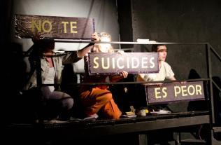 EL EVANGELIO SEGUN SUPERMAN Ciclo Estamos en obra -Direccion Sergio Osses-Cordoba- 2012