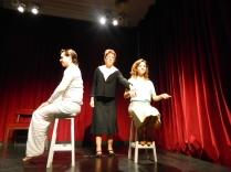 Pequeña melodia para piano y Ella. Teatro Nacional Cervantes. Ciclo Autoras Argentinas.Direccion Cristina Merelli. 2014