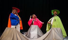 Pequeño Cyrano Ilustrado 2014 Agrupacion Teatral Maria Castaña- Cordoba- Argentina-Direccion Leo Rey