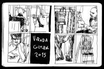 VIRADA CULTURAL 2015 DESENHOS GUAZZELLI