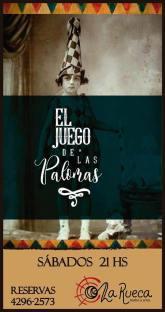El juego de las palomas - La Rueca Teatro- Montegrande - Bs As - ArgentinaDirección: Mariana Agüero